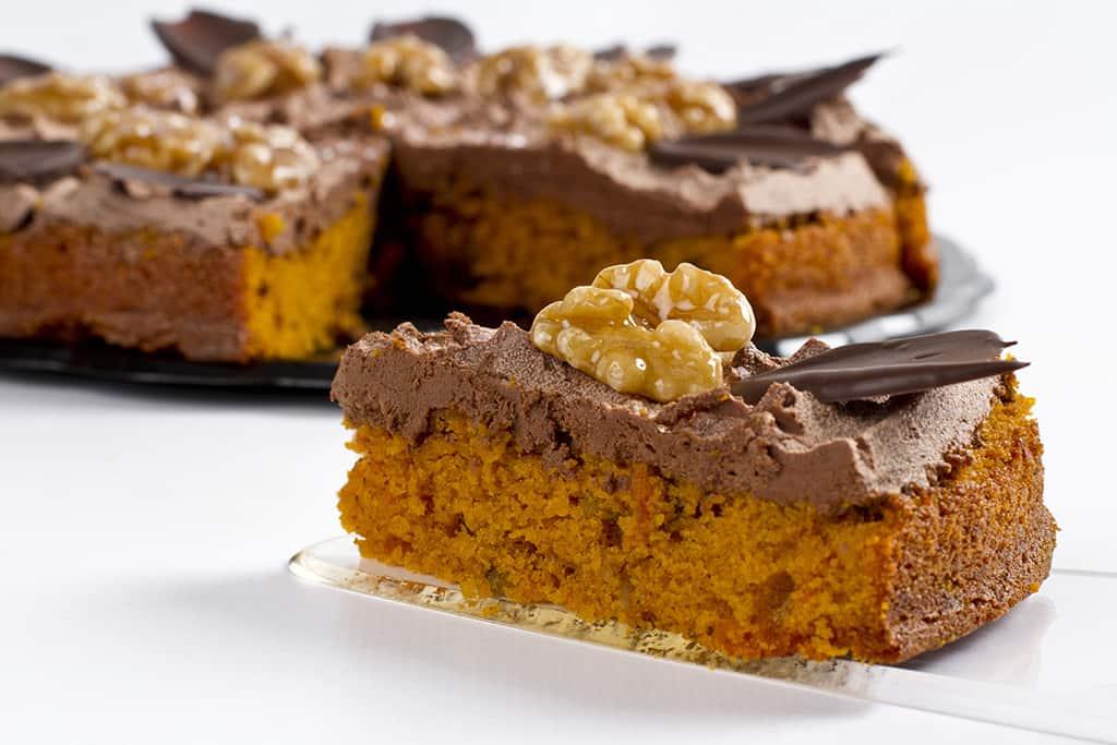 Receta de Pastel de chocolate y frutos secos