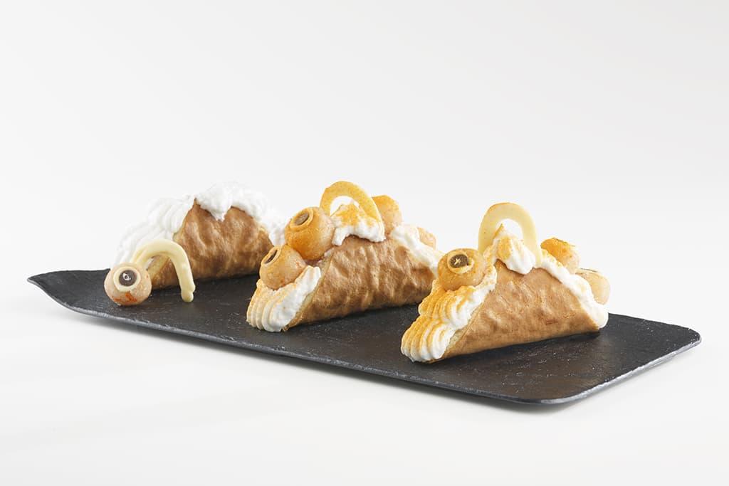 Receta de Pastel de Crema Chantilly para Halloween