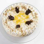 Tarta miel y limón con Merengue suizo