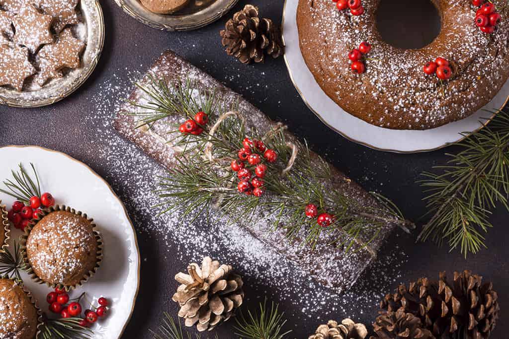 Receta de Tronco de Navidad con Chocolate