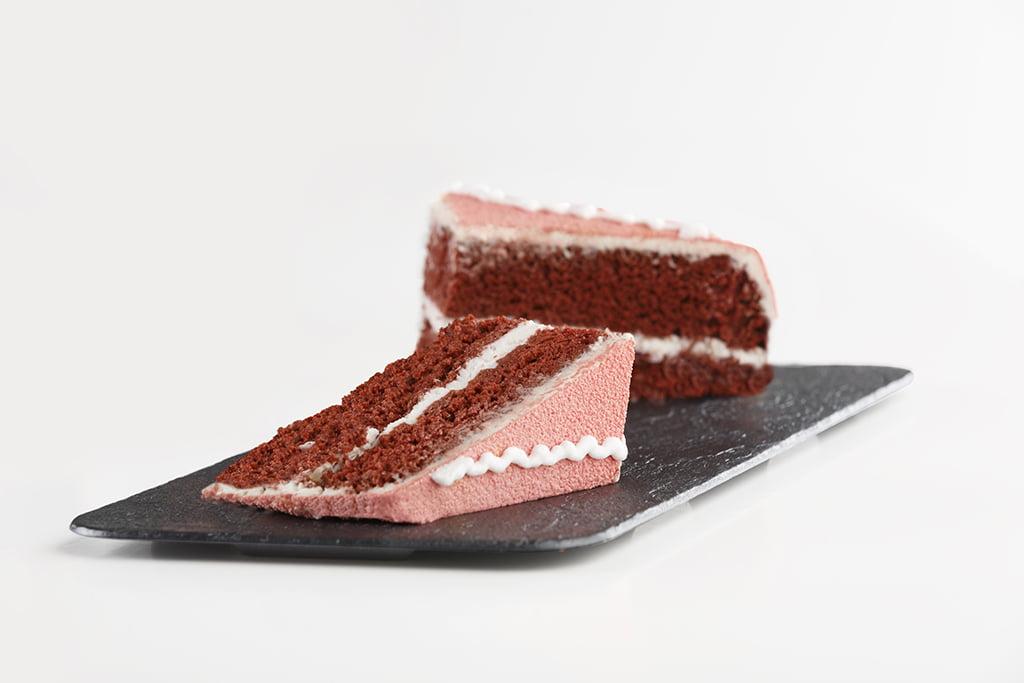 Porción estrella tarta red velvet