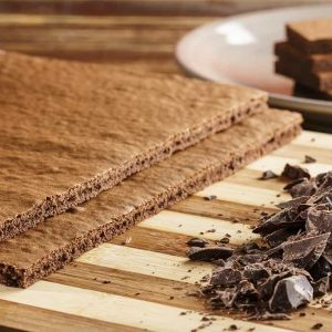 Plancha de bizcocho chocolate