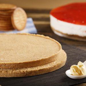 Base de galletas para tarta sin horno