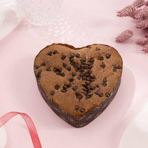 Corazón de bizcocho de Caramelo Toffee