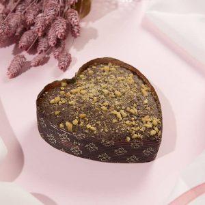 Corazón de bizocho Chocolate