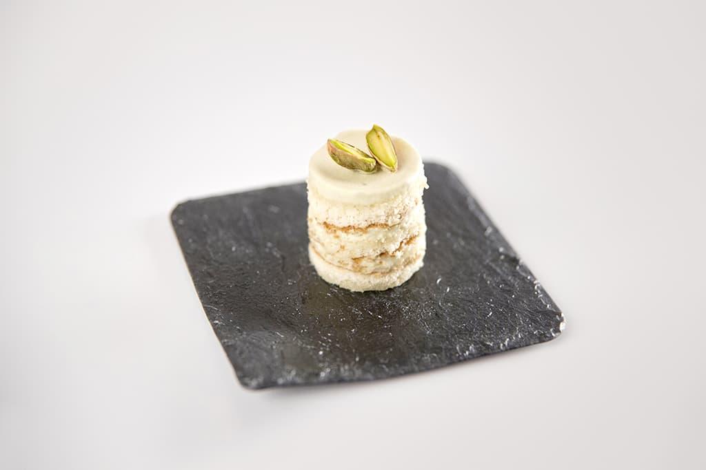 Receta de Mini pasteles de Crema de Pistachos